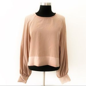 ❤️Prologue❤️taupe Blouse❤️cuffed sleeves❤️NWT